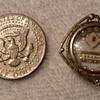 19thC. Vermeil S.E.A. Seton Reliquary Pendant. Wax Seal