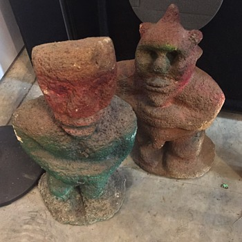 Old Statues from Morocco unknown Figuries???? - Fine Art