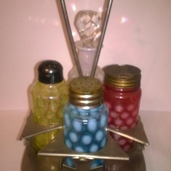 Victorian Small Castor/Condiment  Sets - Kitchen