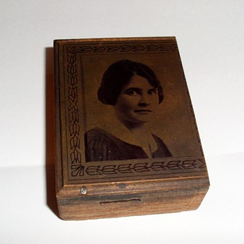 Copper Plate Printers Block - Portrait - Office