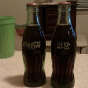 two WW2 un opened pakistan coke bottles (6.5oz)
