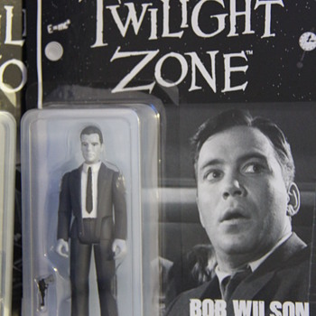 Twilight Zone - Nightmare at 20,000 feet with William Shatner - Toys