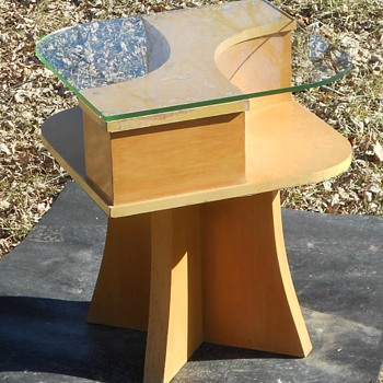 CURIOUS STYLE ART DECO MID CENTURY ? COCKTAIL COFFEE TABLE