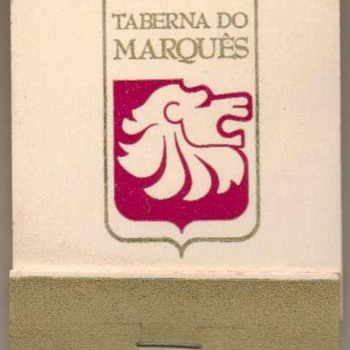 Taberna do Marqués (Brazil) - Matchbook - Advertising
