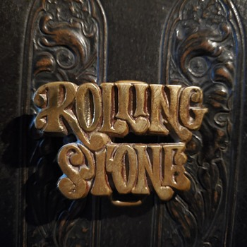 Rolling Stone Belt Buckle - Accessories