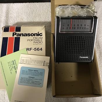 Original 1960's Panasonic radio  - Radios