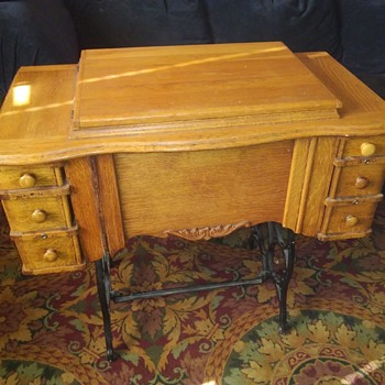Antique sewing cabinet - Sewing