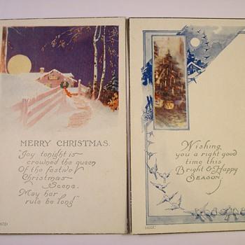 """The """"Original"""" Christmas Cards 1897-1917 - Postcards"""