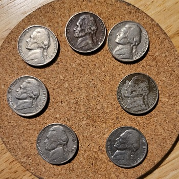 A few old friends - US Coins