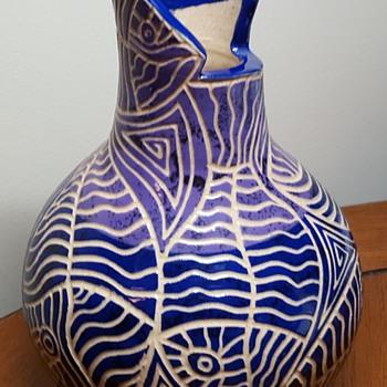 Jamaican Wassi Art Vase