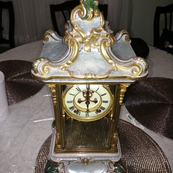 My Ansonia clock - Clocks