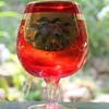 Japanese enameled goblet
