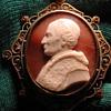 Rare cameo of Pope Leo XIII in original box