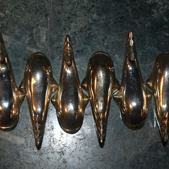 Chromed Fish Map Weights? - Figurines
