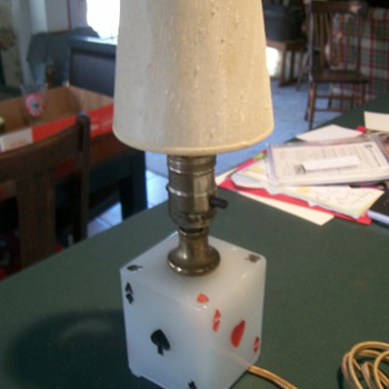 """Aces"" Table/Bar Lamp - Lamps"