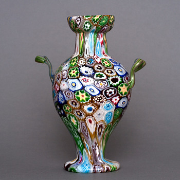Fratelli Toso 1920's vase - Art Glass