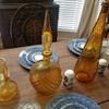 Vintage wine decanters