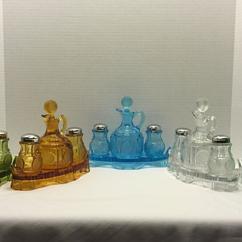 Some of my favorite pieces of Coin Glass - Glassware