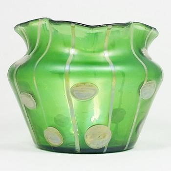 Loetz Streifen und Flecken ca. 1900 PN 1335/7  - Art Glass