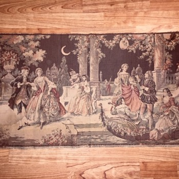 "Vintage Tapestry ""Made in Belgium""  - Rugs and Textiles"