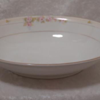"""Noritake China """"Hand Painted"""" Bowl """"The Lorraine"""" - China and Dinnerware"""