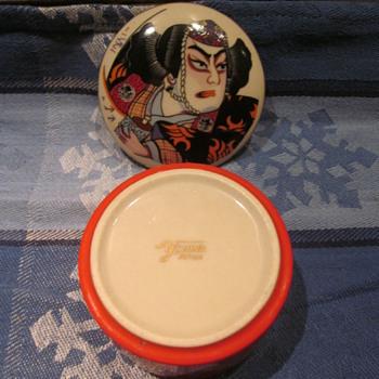Trinket Box with Japan Marking ????? - Asian