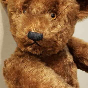 Anyone Know Who Made This Antique or Vintage Mohair Teddy Bear? - Dolls