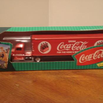 Die-Cast Coca Cola Big Rig Bank - Coca-Cola