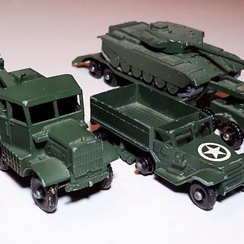 Mighty Macho Military Matchbox Monday MB-49 M3 Personnel Carrier 1958-1966  - Model Cars