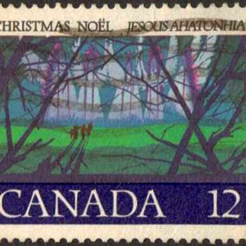 "1977 - Canada ""Christmas"" Postage Stamp"