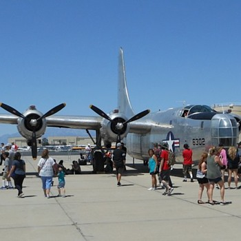 Consolidated PB4Y-2 Privateer (B24) from March AFB Airshow