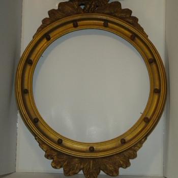 Antique Eagle Frame - Fine Art