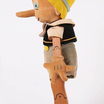Charlotte Clark's 16 inch tall PINOCCHIO DOLL, 1939.  - Dolls