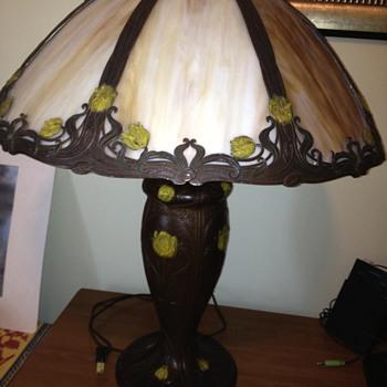 Art Nouveau lamp - Art Nouveau