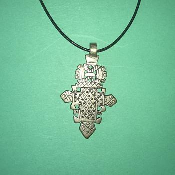 Vintage Ethiiopian Pendant - Fine Jewelry