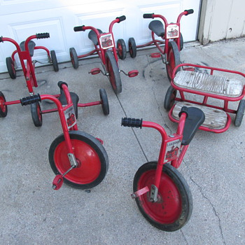 Collection of (5) Lakeshore Tricycles
