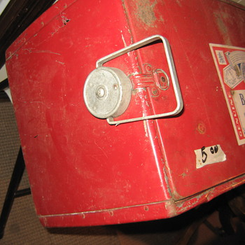 Coca-Cola Cooler Identical to one in picture - Coca-Cola