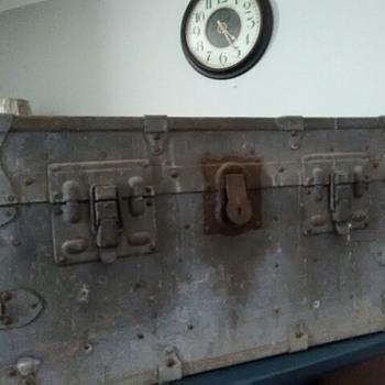Antique trunk - Furniture