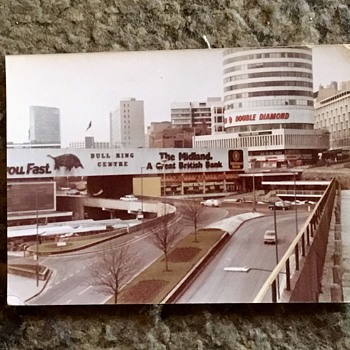 Old Birmingham City Centre, 1977 and 1978. - Photographs