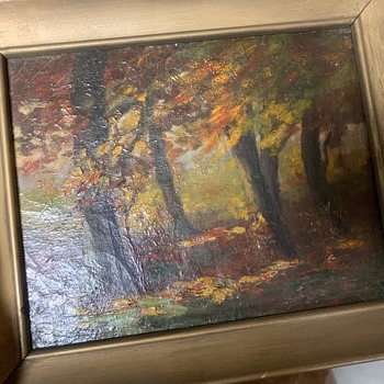 Oil Painting Chautauqua NY (?) - Fine Art