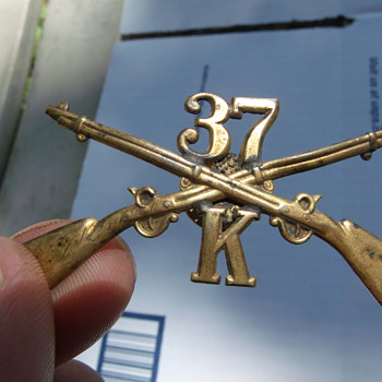 Spanish American War Pin I found at yardsale in junk jewl tray labeled $1 each - Military and Wartime