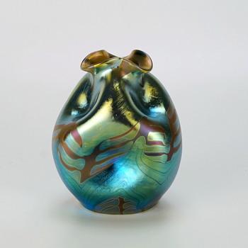 Loetz Phänomen Genre 1/158 Vase Circa 1901 - Art Glass