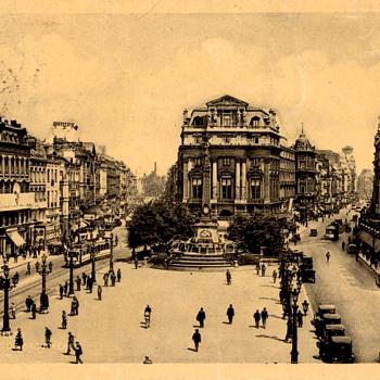 Postcard - Bruxelles, Belgium 1932 - Postcards