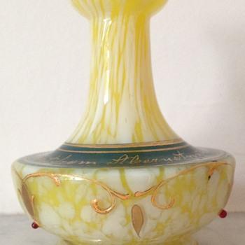 A present from Bohemia... via Aberystwyth - Art Glass
