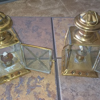 Oil Lanterns  - Nautical? - Lamps