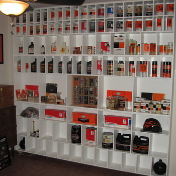 Harley Davidson Oil - Breweriana