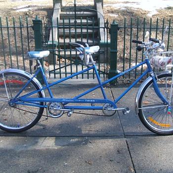 my 1964  schwinn  tandem  bicycle   - Sporting Goods