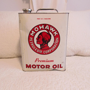Mohawk motor oil can.. - Petroliana