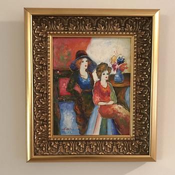 Oil Painting G Olan? - Fine Art