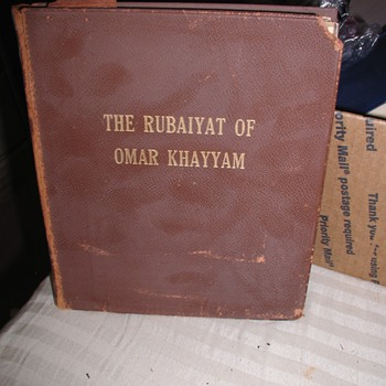 Is my version of The Rubaiyat of Omar Khayyam Translated into English by Edward Fitzgerald a 1st Edition / 1st Printing?